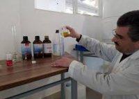 تولید محلول ضدعفونیکننده دست با فرمولاسیون جدید در کشور